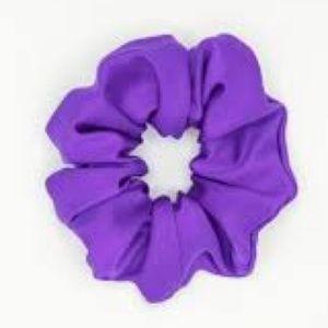 ❤️ 3/30$ American Apparel neon purple scrunchie